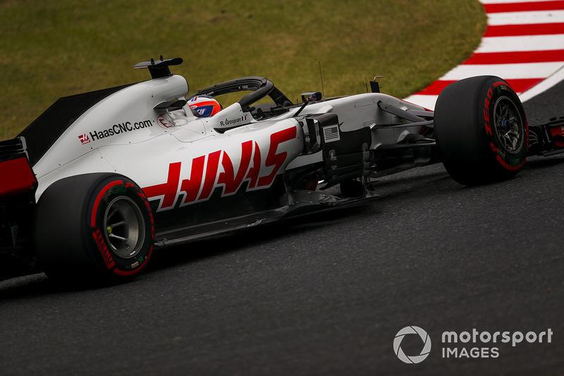 5. Romain Grosjean, Haas F1 Team VF-18