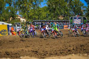 Partenza della gara WMX