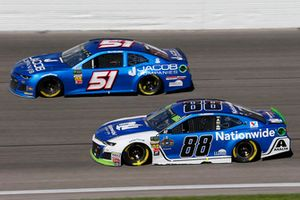 Alex Bowman, Hendrick Motorsports, Chevrolet Camaro Nationwide e B.J. McLeod, Rick Ware Racing, Ford Fusion Jacob Companies