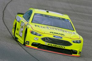 Ryan Blaney, Team Penske, Ford Fusion Menards/Richmond