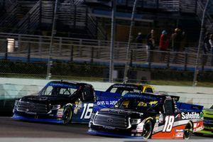 Noah Gragson, Kyle Busch Motorsports, Toyota Tundra Safelite AutoGlass Brett Moffitt, Hattori Racing Enterprises, Toyota Tundra AISIN Group