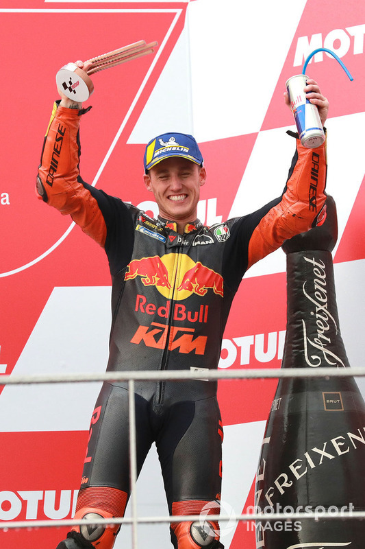 Podium: third place Pol Espargaro, Red Bull KTM Factory Racing