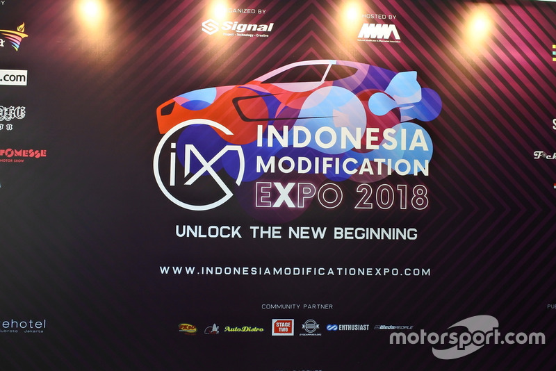 Backdrop Indonesia Modification Expo 2018