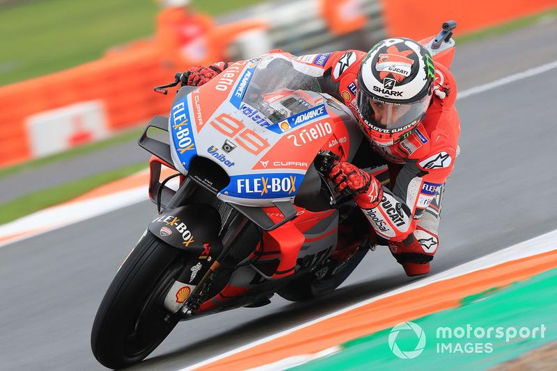2018: MotoGP, 9º - Jorge Lorenzo - Ducati
