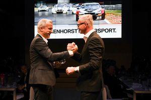 Jens Marquardt, BMW Motorsport con Henry Walkenhorst