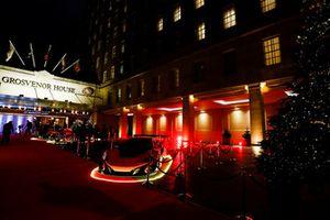 McLaren road car on the red carpet