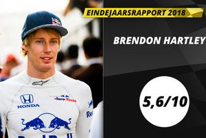 Eindrapport 2018: Brendon Hartley