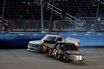 Riley Herbst, DGR-Crosley, Toyota Tundra Advance Auto Parts / Terrible Herbst / NOS / ORCA spins