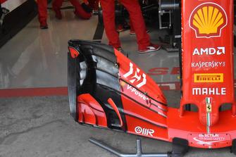 Ferrari SF71H detalle alerón delantero