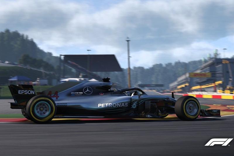 Брендон Ли, Mercedes F1 AMG W09, F1 2018