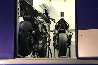 Мотоцикл Yamaha RM1 Льюиса Хэмилтона в Хересе