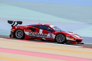 #16 Denmark, Formula Racing Ferrari 488 GT3: Johnny Laursen, Nicklas Nielsen