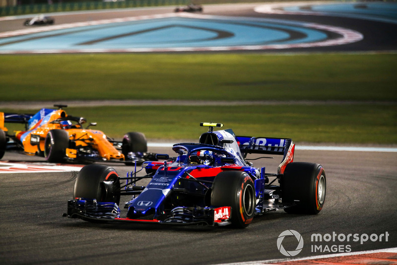 Pierre Gasly - Toro Rosso: 8 puan