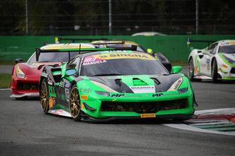 #183 Ferrari 488, Ineco - MP Racing: Manuela Gostner