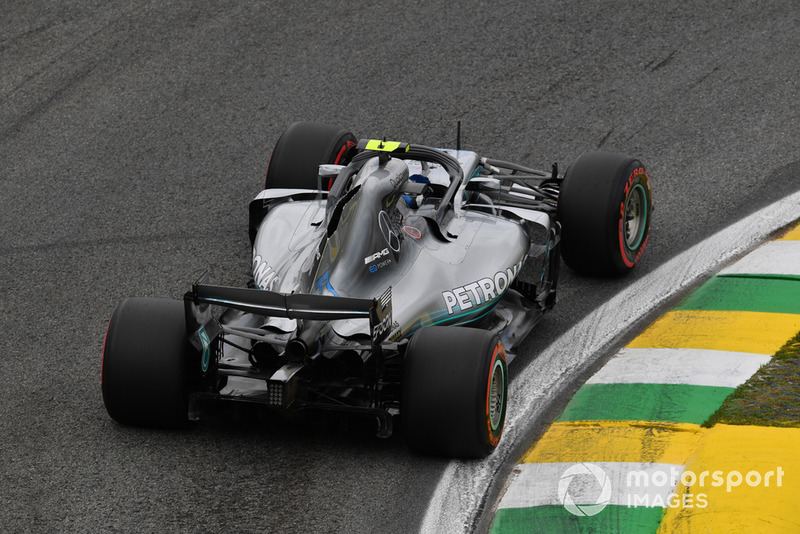 3: Valtteri Bottas, Mercedes AMG F1 W09: 1:07.441