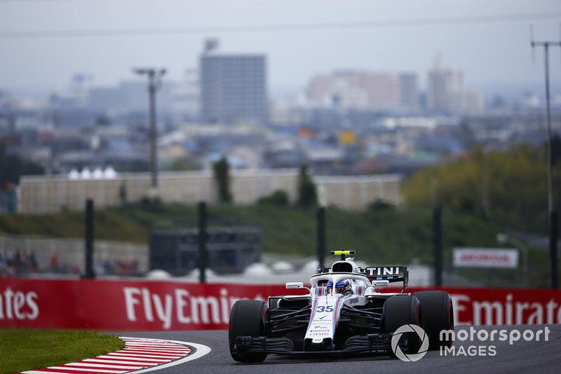 17: Sergey Sirotkin, Williams FW41, 1:30.372