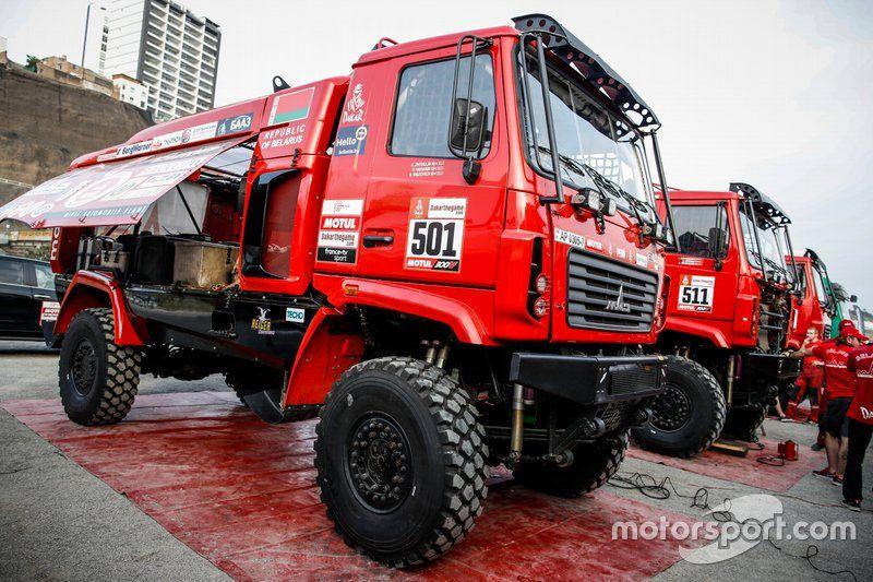 Dakar 2019: Camión