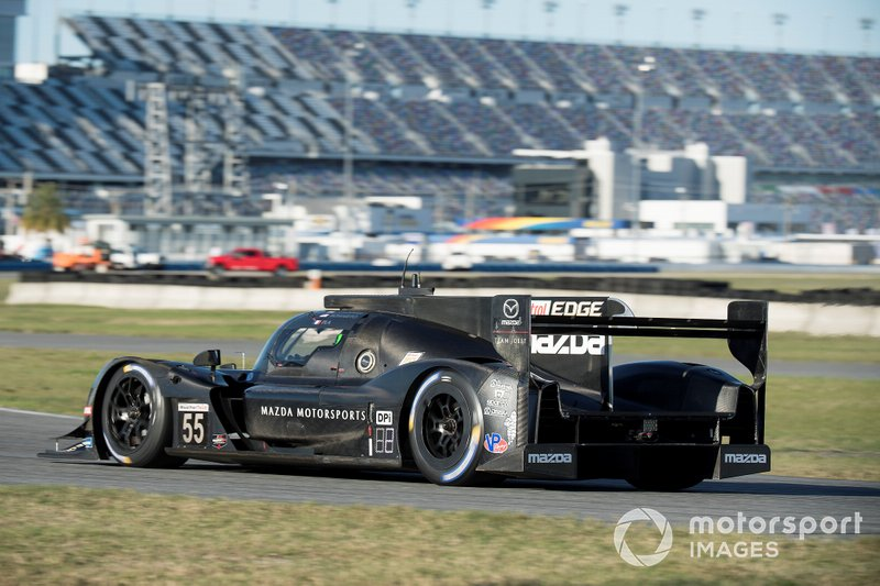 Mazda beim Test in Daytona