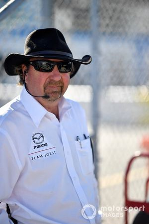 #55 Mazda Team Joest Mazda DPi, DPi: Brad Kettler Joest Racing.