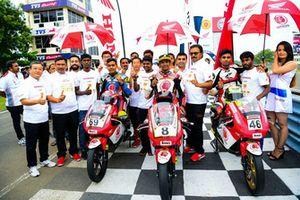 Rajiv Sethu, Honda, Sarath Kumar, Honda and Mathana Kumar, Honda