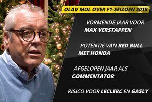 Olav Mol over het Formule 1-seizoen 2018