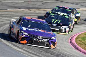 Denny Hamlin, Joe Gibbs Racing, Toyota Camry FedEx Freight, Kurt Busch, Stewart-Haas Racing, Ford Fusion Haas Automation/Monster Energy