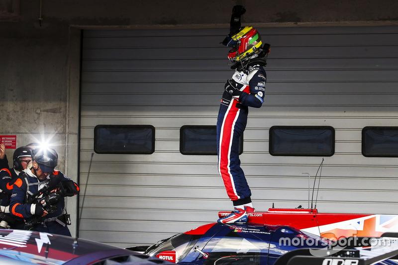 I vincitori della gara #22 United Autosports Ligier JSP217 - Gibson: Philip Hanson, Filipe Albuquerque