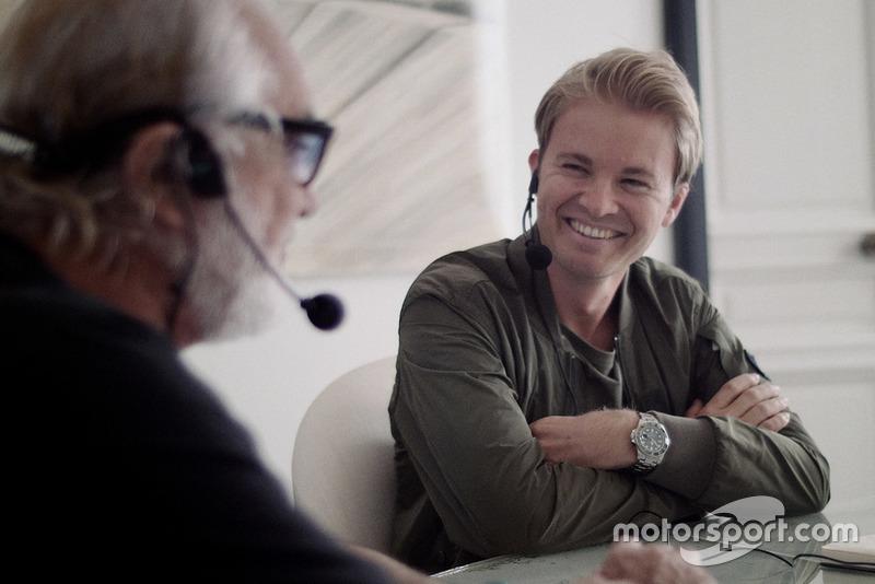 Nico Rosberg trifft Flavio Briatore zum Interview