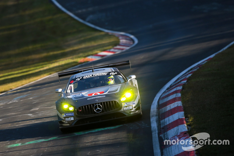 #10 SPS automotive performance Mercedes-AMG GT3: Edoardo Mortara, Renger Van Der Zande
