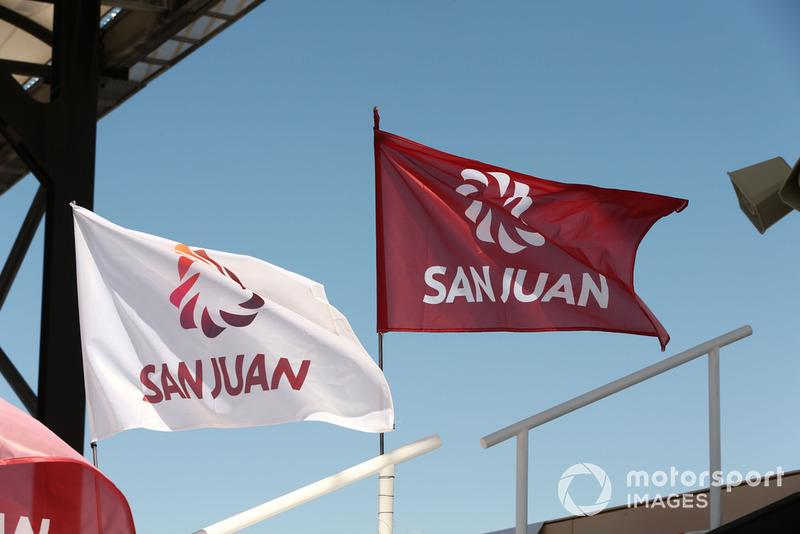 San Juan flags