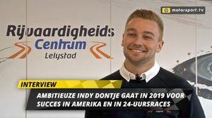 Indy Dontje over het seizoen 2019