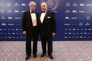 Chase Carey, Chief Executive Officer ed Executive Chairman del Formula One Group, Victor Kiryanov, Presidente RAF