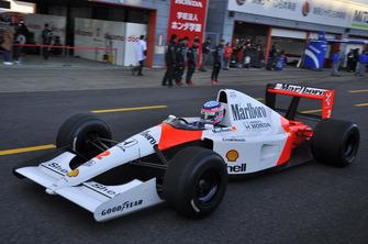 McLaren-Honda MP4/6 driven by Takuma Sato