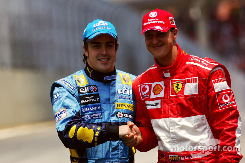 Fernando Alonso, Michael Schumacher