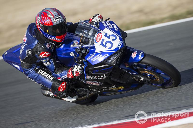 Galang Hendra, Yamaha MotoX Racing