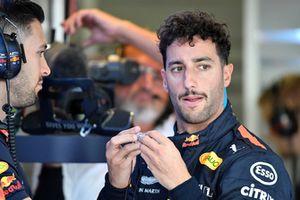 Daniel Ricciardo, Red Bull Racing et son physio