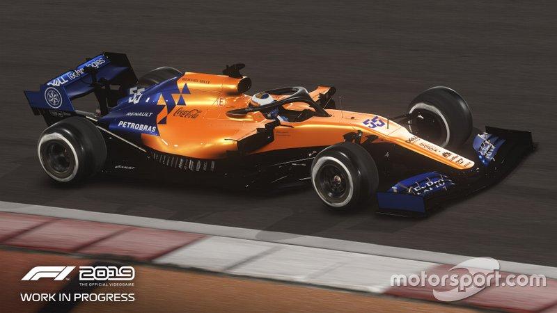 McLaren en el 'F1 2019'