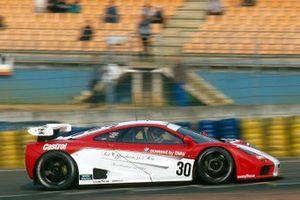 #30 DPR McLaren F1 GTR: Thomas Bscher, John Nielsen, Peter Kox