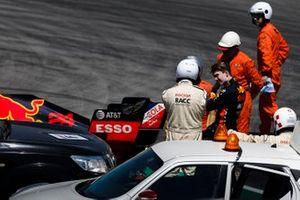 Dan Ticktum, Red Bull Racing RB15 stops on track
