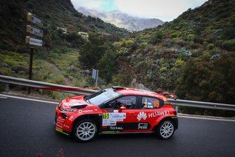 Jose Maria Lopez, Borja Rozada, Citroen C3 R5, Rally Islas Canarias, FIA ERC