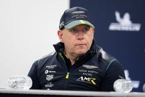 #98 Aston Martin Racing Aston Martin Vantage: Paul Dalla Lana, Pre event press conference