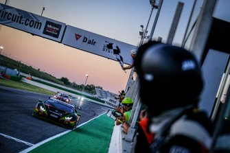 Winner #563 Orange 1 FFF Racing Team Lamborghini Huracan GT3 Evo: Andrea Caldarelli, Marco Mapelli