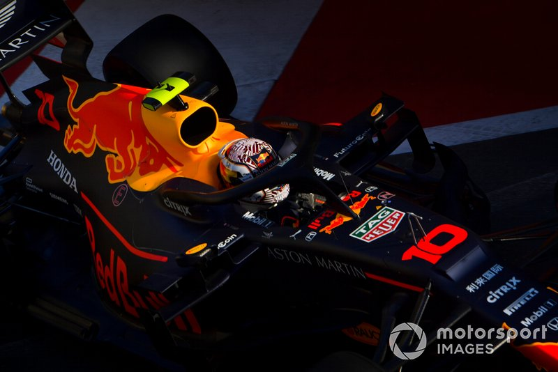 20: Pierre Gasly, Red Bull Racing RB15, no time – start from the pit lane