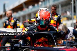 Pierre Gasly, Red Bull Racing, on the grid