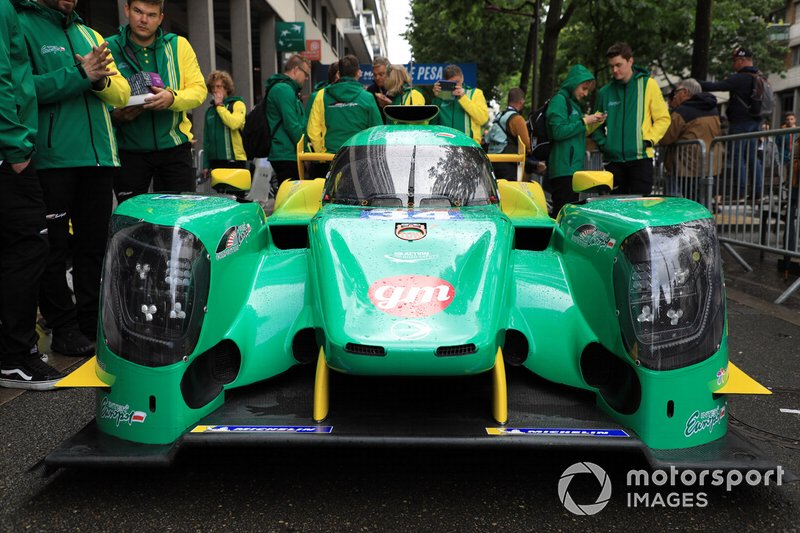 #34 Inter Europol Competition Oreca 07 Gibson