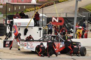 Natalie Decker, DGR-Crosley, Toyota Tundra N29 Technologies LLC pit stop
