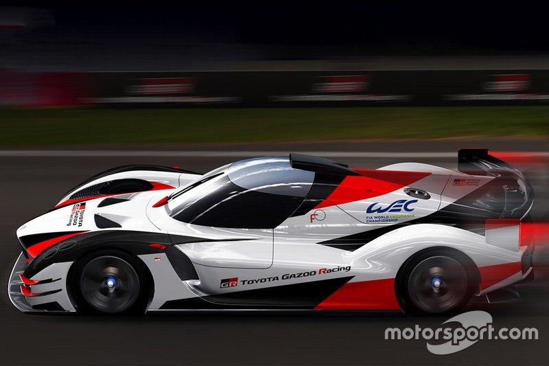 Rendering Toyota Gazoo Racing Hypercar