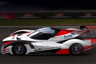 Hypercar Toyota pour le FIA WEC