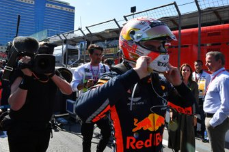 Max Verstappen, Red Bull Racing, op de grid