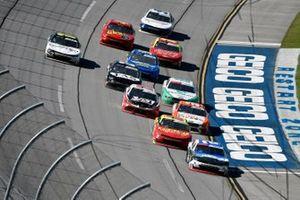 Tyler Reddick, Richard Childress Racing, Chevrolet Camaro Roland and Gray Gaulding, SS Green Light Racing, Chevrolet Camaro Panini/NASCAR Racing Experience/Worldwide Safety Consulting